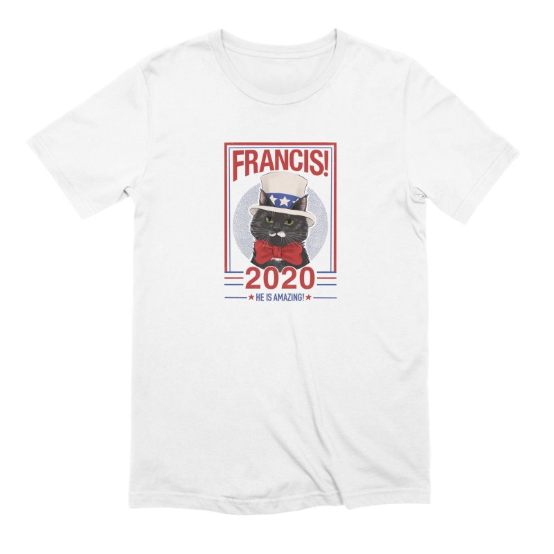 Francis! 2020  He IS Amazing! Men's Extra Soft T-Shirt by CGMFF