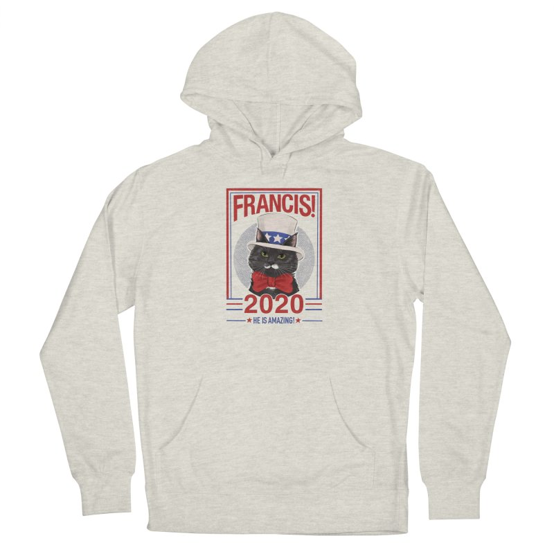 Francis! 2020  He IS Amazing! Men's French Terry Pullover Hoody by CGMFF