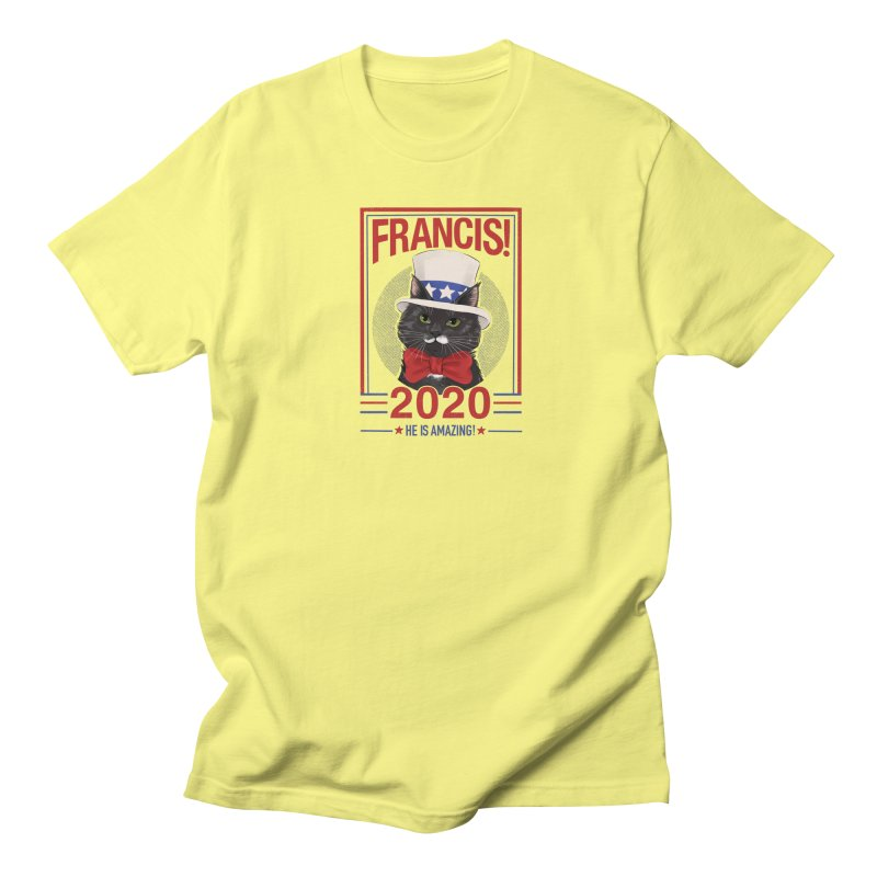 Francis! 2020  He IS Amazing! Men's Regular T-Shirt by CGMFF