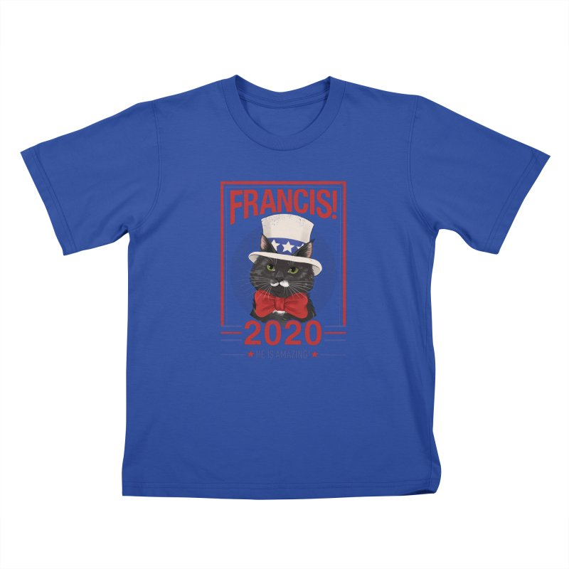 Francis! 2020  He IS Amazing! Kids T-Shirt by CGMFF