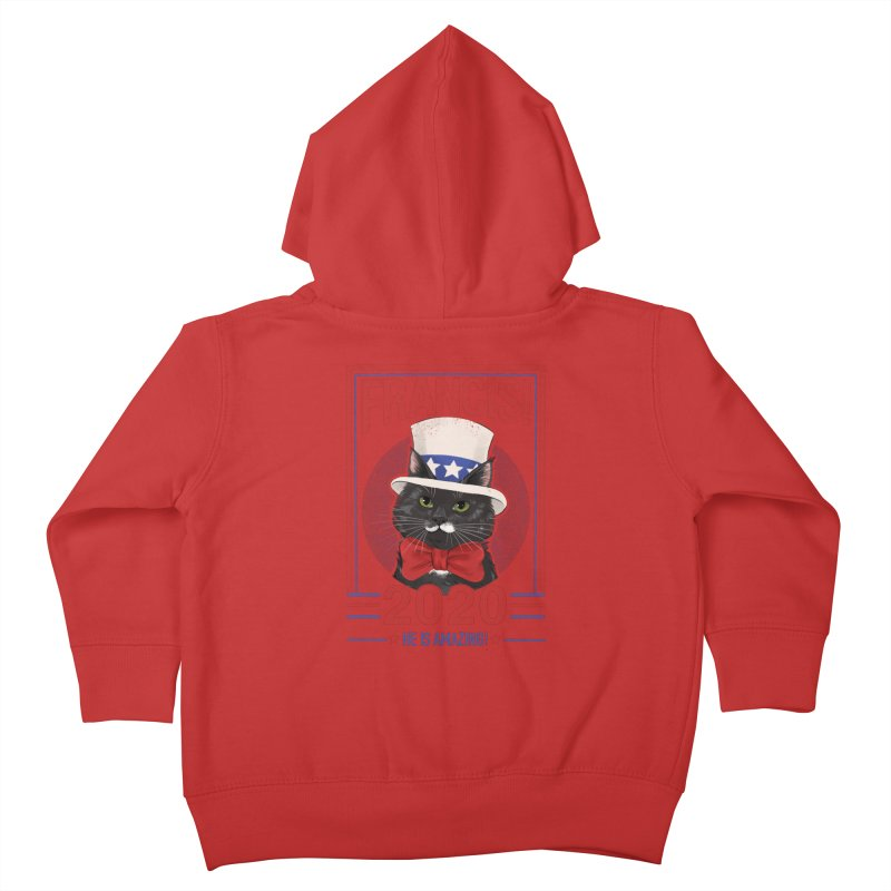 Francis! 2020  He IS Amazing! Kids Toddler Zip-Up Hoody by CGMFF