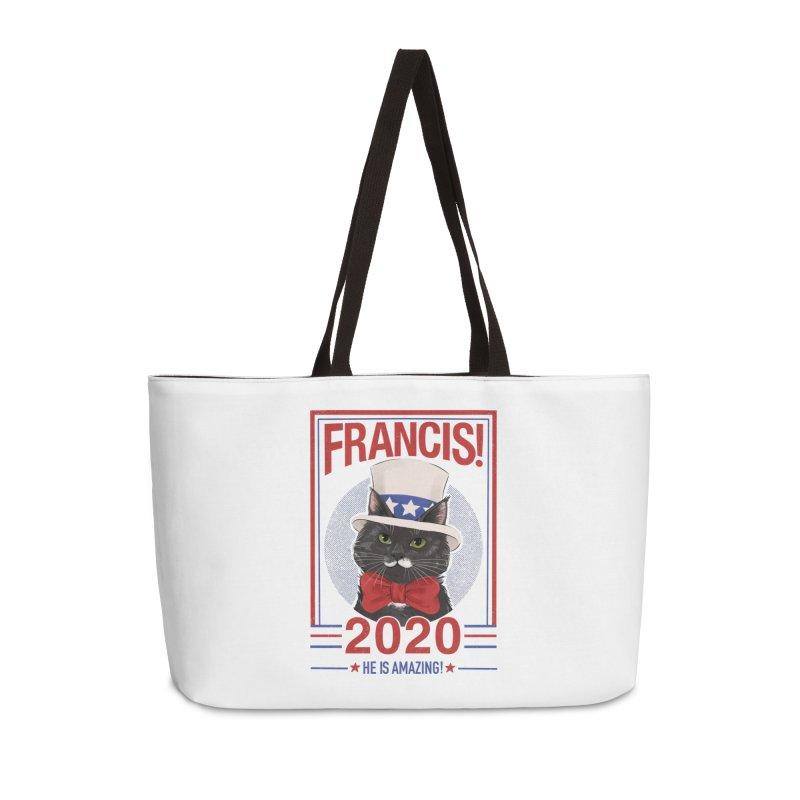 Francis! 2020  He IS Amazing! Accessories Weekender Bag Bag by CGMFF