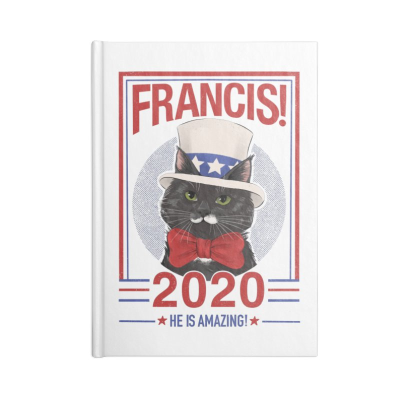 Francis! 2020  He IS Amazing! Accessories Lined Journal Notebook by CGMFF