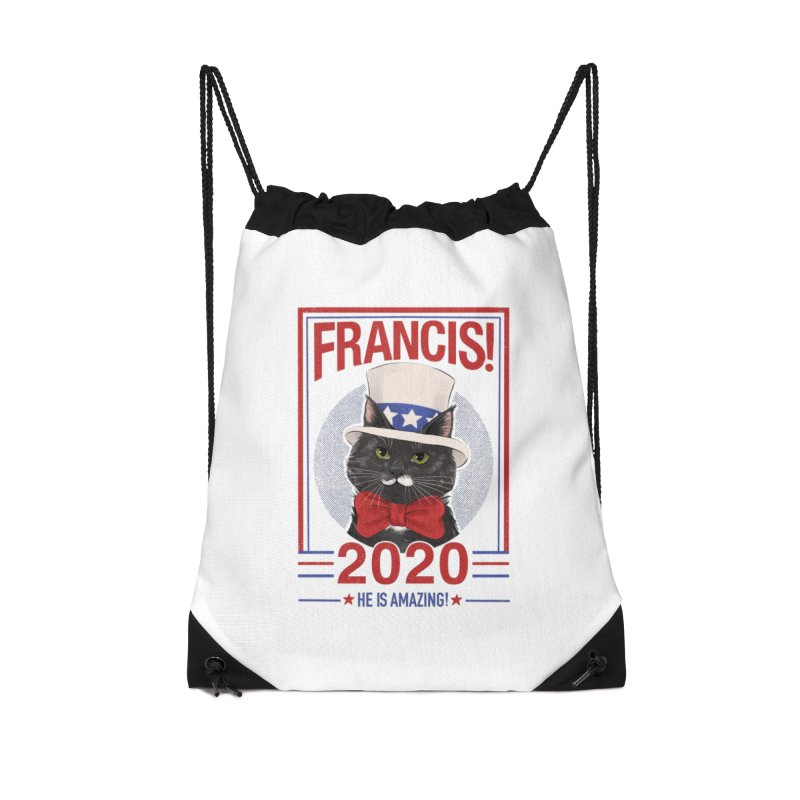 Francis! 2020  He IS Amazing! Accessories Drawstring Bag Bag by CGMFF