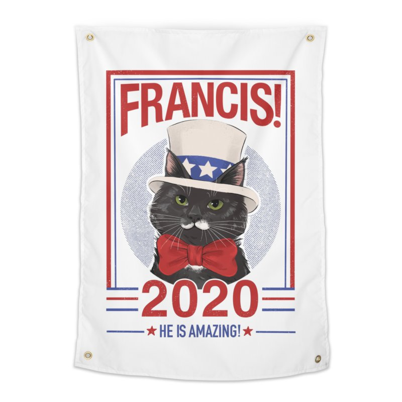 Francis! 2020  He IS Amazing! Home Tapestry by CGMFF