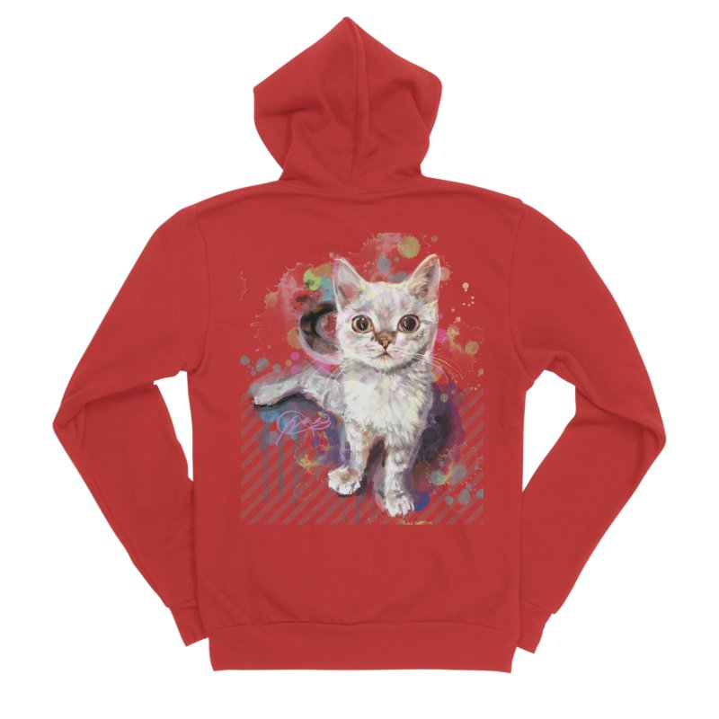 The Incredible Pettable Eggbert! Men's Zip-Up Hoody by CGMFF