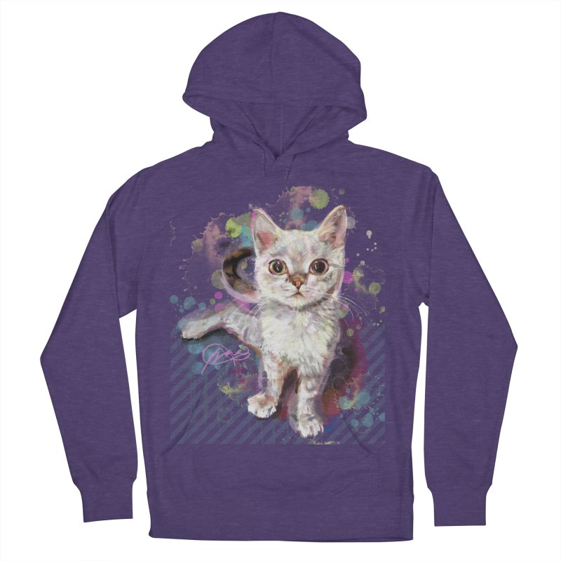 The Incredible Pettable Eggbert! Women's French Terry Pullover Hoody by CGMFF