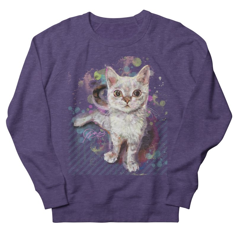 The Incredible Pettable Eggbert! Women's French Terry Sweatshirt by CGMFF