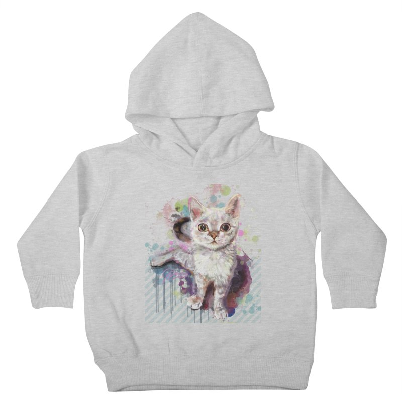 The Incredible Pettable Eggbert! Kids Toddler Pullover Hoody by CGMFF
