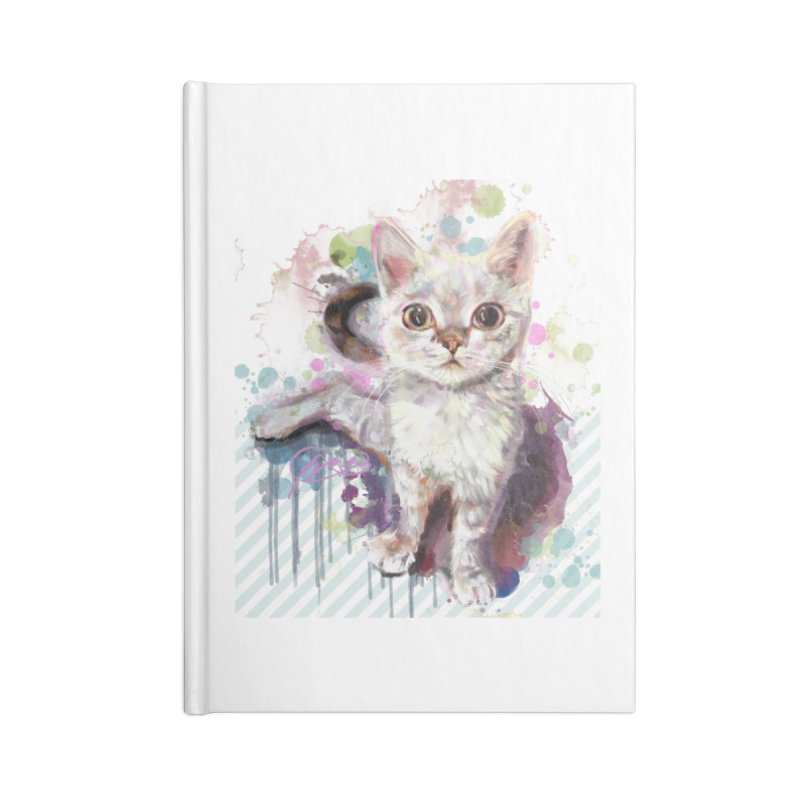 The Incredible Pettable Eggbert! Accessories Lined Journal Notebook by CGMFF