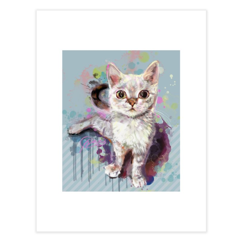 The Incredible Pettable Eggbert PRINT Home Fine Art Print by CGMFF