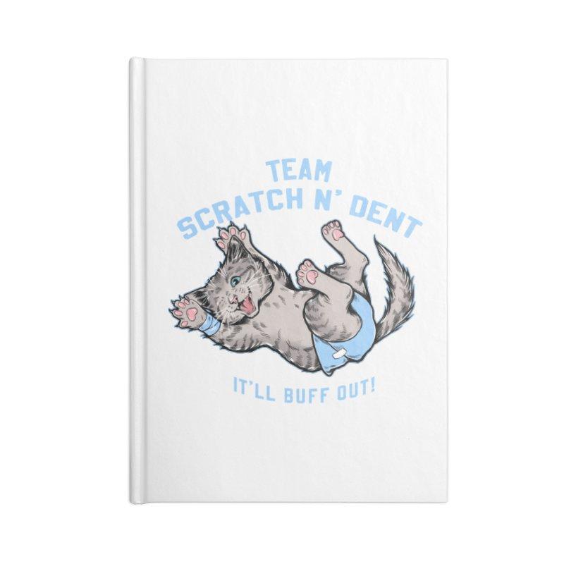 Team Scratch N' Dent Accessories Notebook by CGMFF