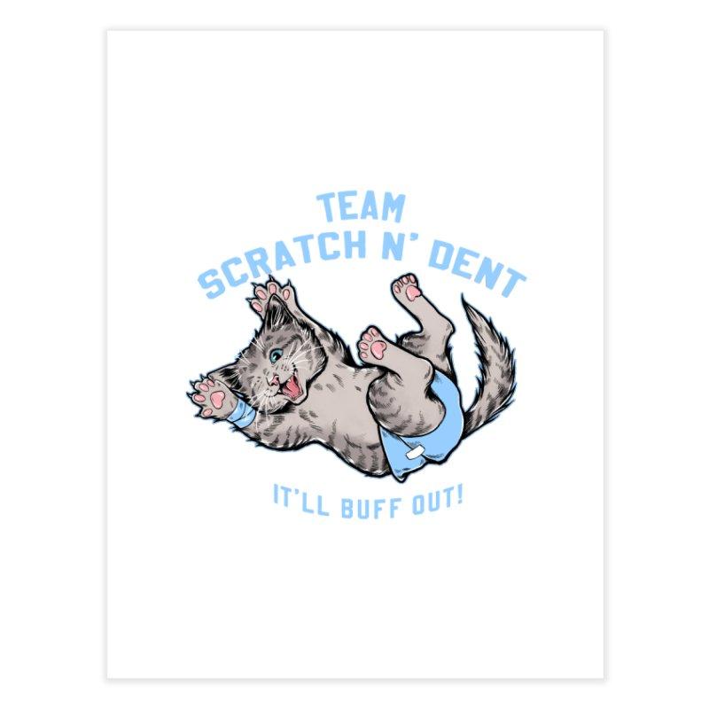 Team Scratch N' Dent Home Fine Art Print by CGMFF