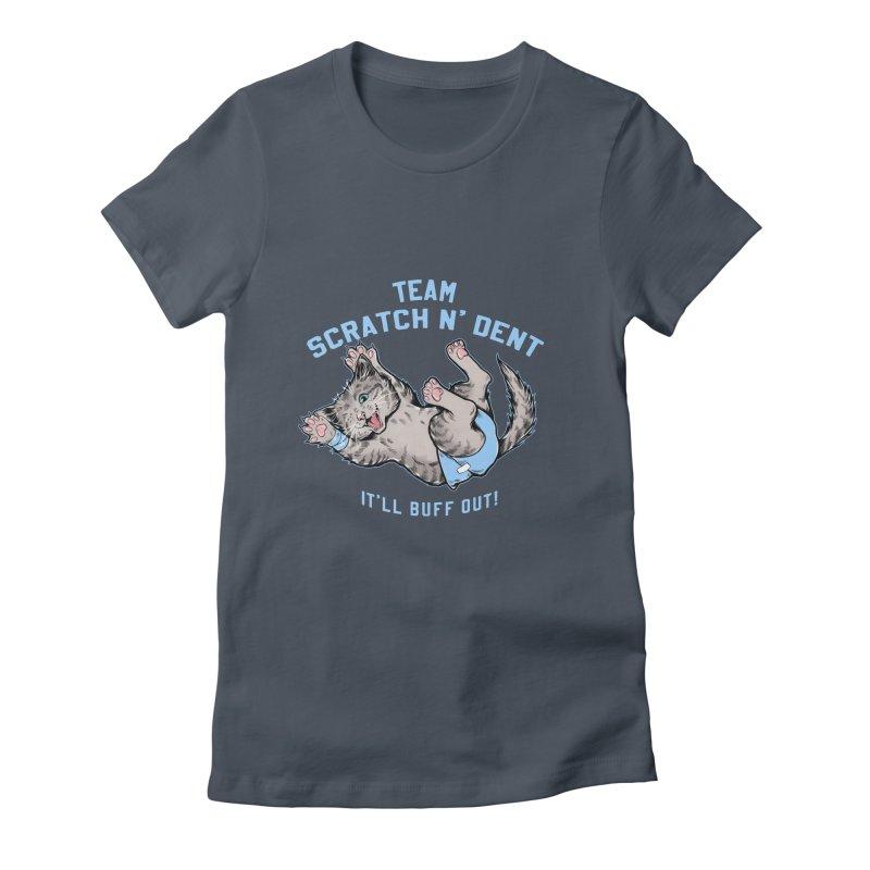 Team Scratch N' Dent Women's T-Shirt by CGMFF