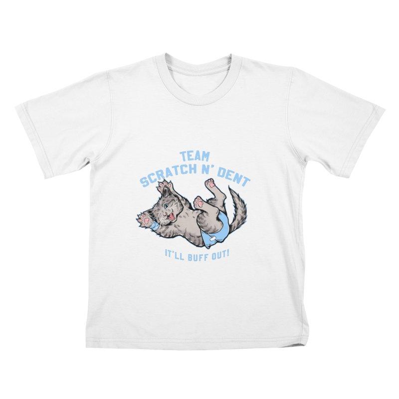 Team Scratch N' Dent Kids T-Shirt by CGMFF