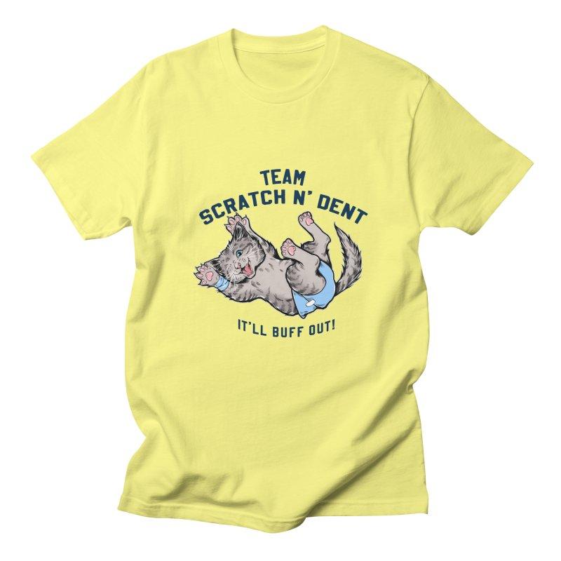 Team Scratch N' Dent (dark font) Men's T-Shirt by CGMFF