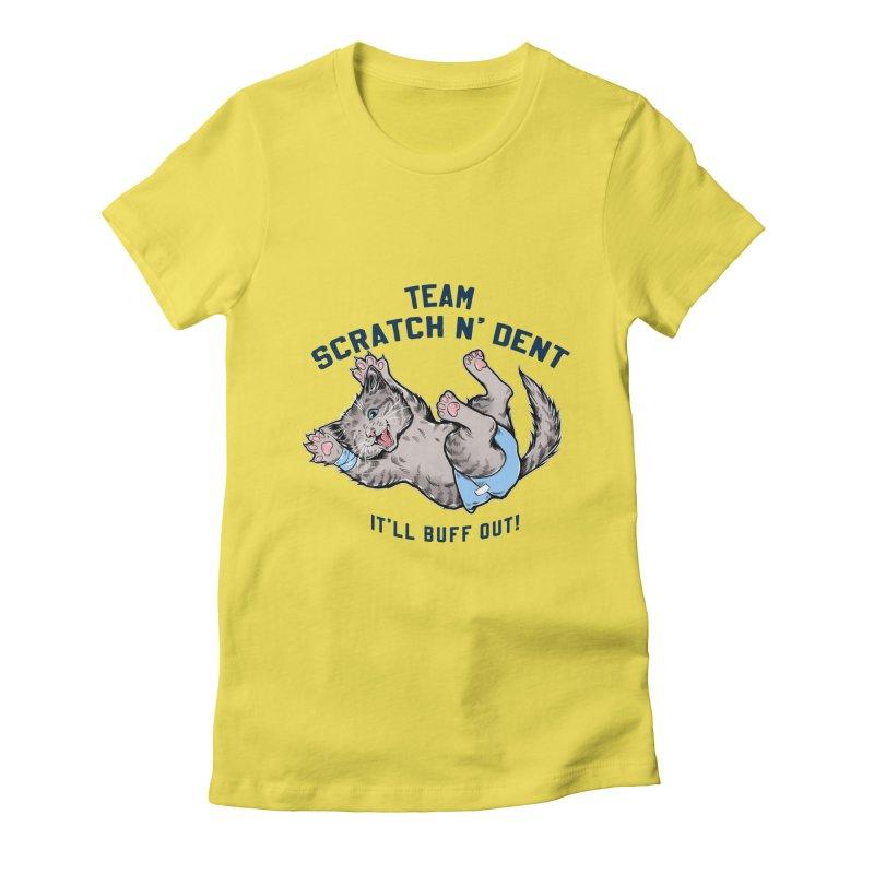 Team Scratch N' Dent (dark font) Women's T-Shirt by CGMFF