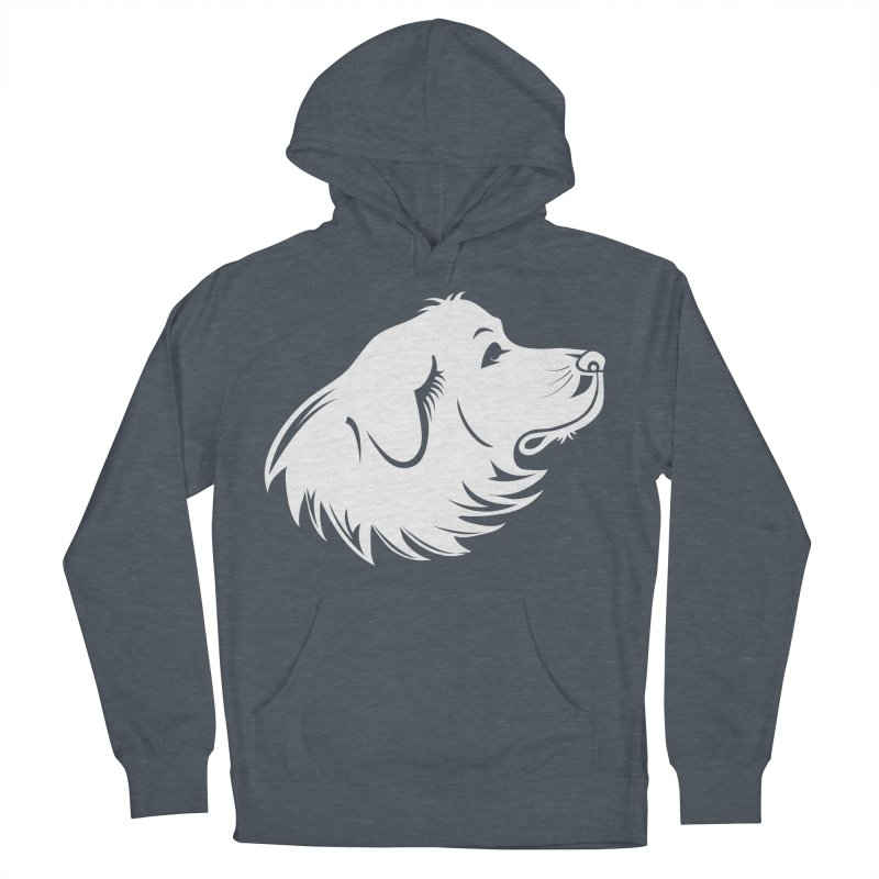 Majestic Pyrenees Women's French Terry Pullover Hoody by Carolina Great Pyrenees Rescue's Shop