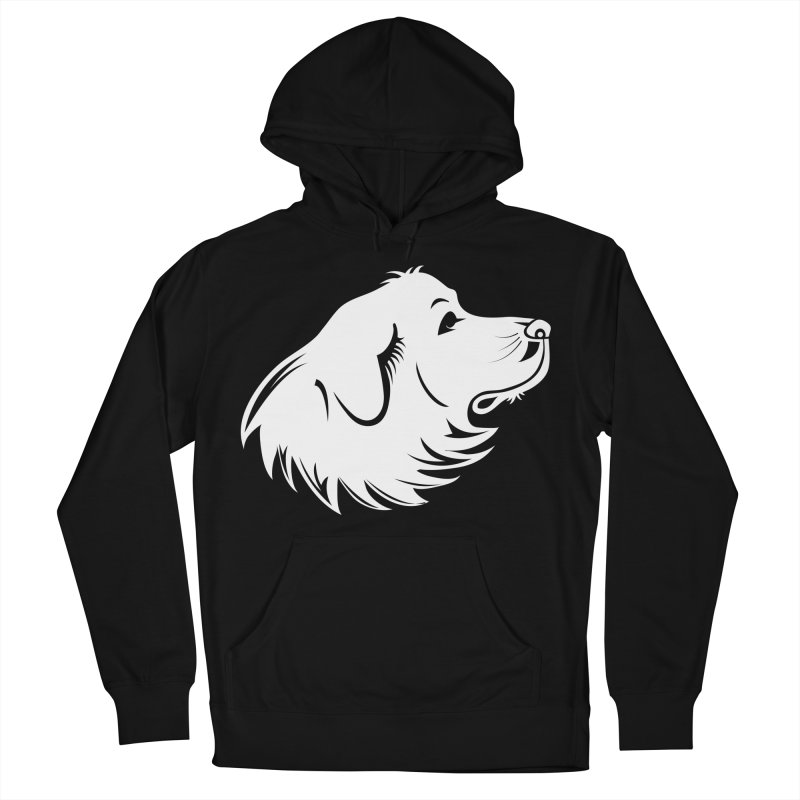 Majestic Pyrenees Women's Pullover Hoody by Carolina Great Pyrenees Rescue's Shop