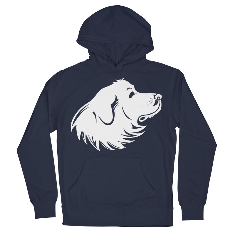 Majestic Pyrenees Men's Pullover Hoody by Carolina Great Pyrenees Rescue's Shop
