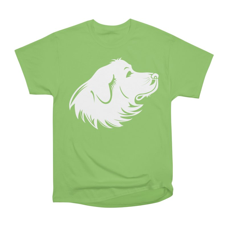 Majestic Pyrenees Men's Heavyweight T-Shirt by Carolina Great Pyrenees Rescue's Shop