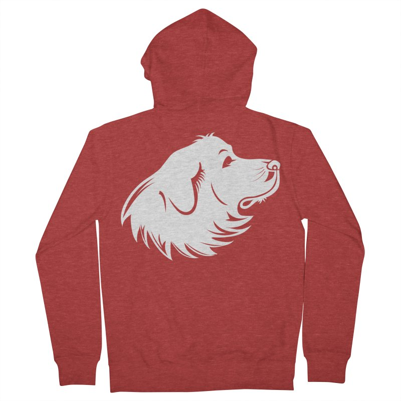 Majestic Pyrenees Women's Zip-Up Hoody by Carolina Great Pyrenees Rescue's Shop