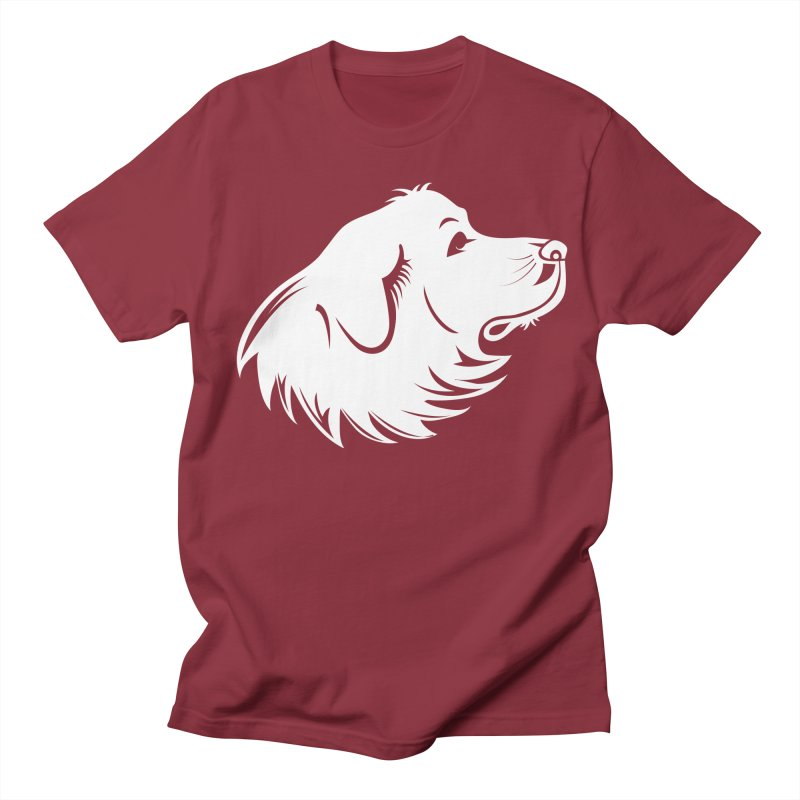 Majestic Pyrenees Men's T-Shirt by Carolina Great Pyrenees Rescue's Shop