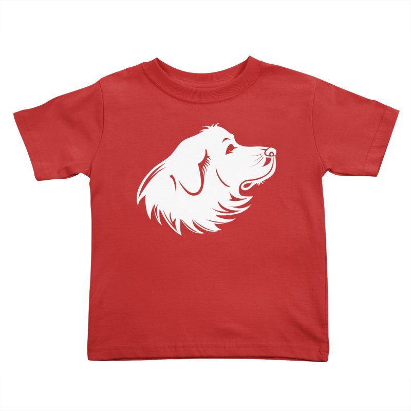 Majestic Pyrenees Kids Toddler T-Shirt by Carolina Great Pyrenees Rescue's Shop