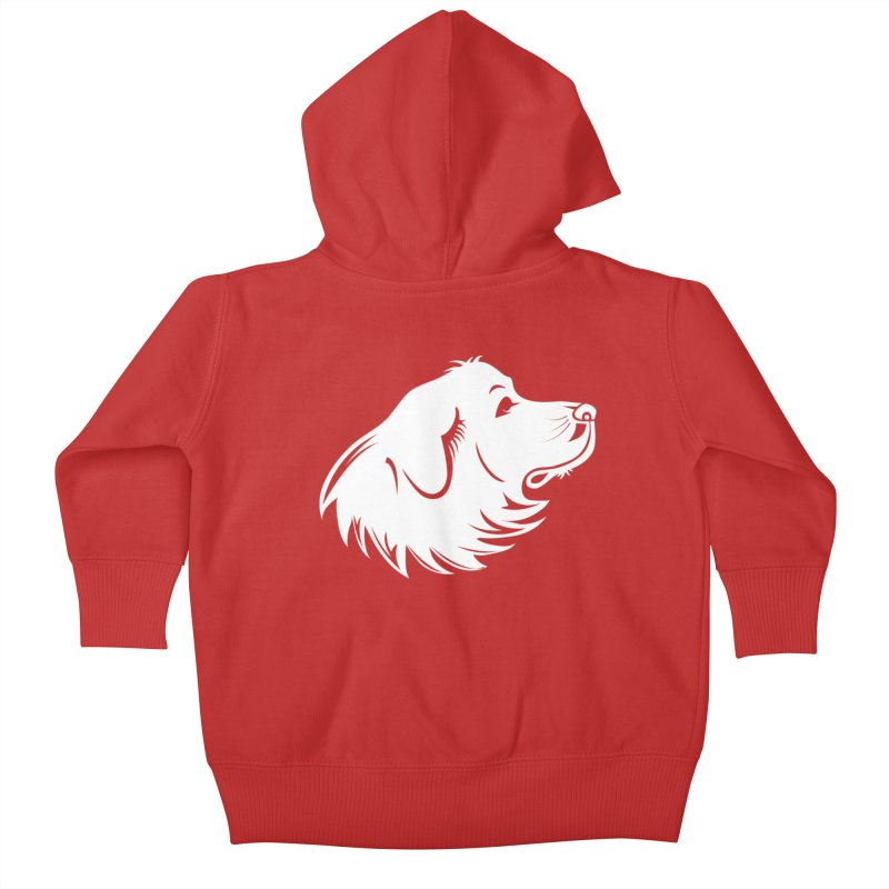 Majestic Pyrenees Kids Baby Zip-Up Hoody by Carolina Great Pyrenees Rescue's Shop