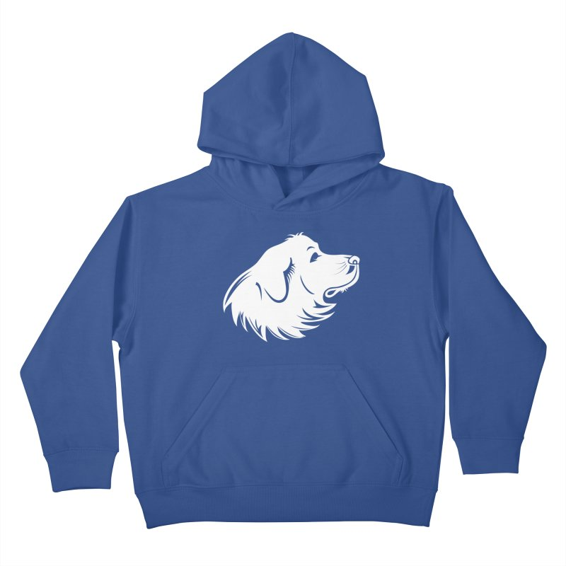 Majestic Pyrenees Kids Pullover Hoody by Carolina Great Pyrenees Rescue's Shop