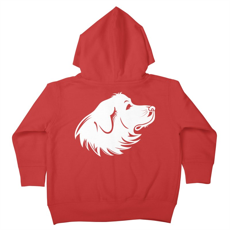 Majestic Pyrenees Kids Toddler Zip-Up Hoody by Carolina Great Pyrenees Rescue's Shop