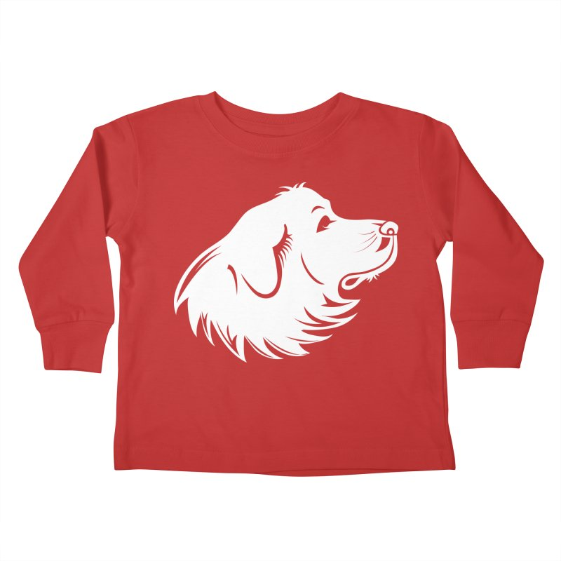 Majestic Pyrenees Kids Toddler Longsleeve T-Shirt by Carolina Great Pyrenees Rescue's Shop