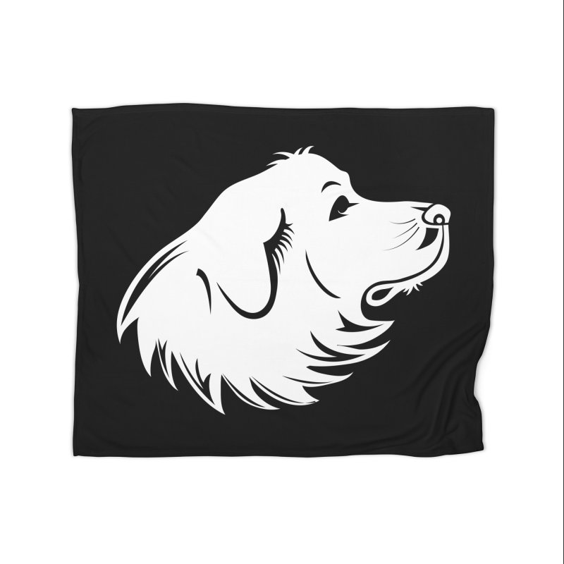 Majestic Pyrenees Home Blanket by Carolina Great Pyrenees Rescue's Shop