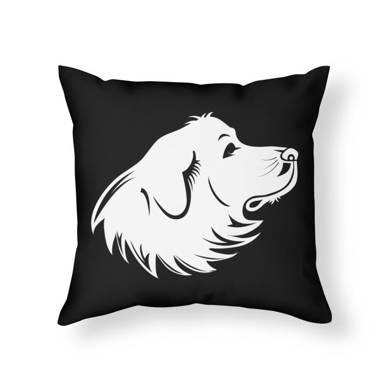 Majestic Pyrenees Home Throw Pillow by Carolina Great Pyrenees Rescue's Shop