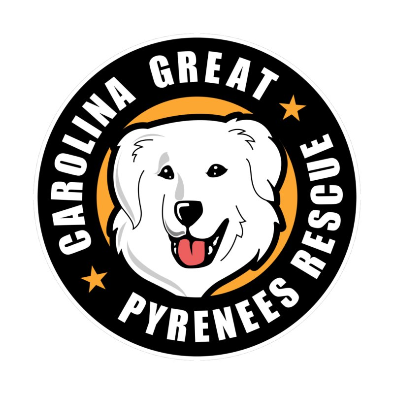 CGPR Logo by Carolina Great Pyrenees Rescue's Shop