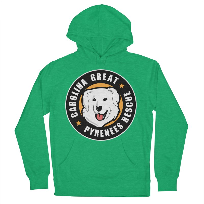 CGPR Logo Men's Pullover Hoody by Carolina Great Pyrenees Rescue's Shop