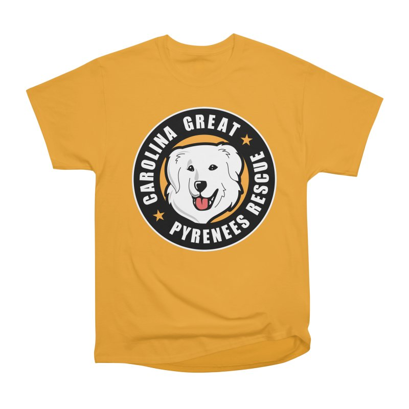 CGPR Logo Men's Classic T-Shirt by Carolina Great Pyrenees Rescue's Shop