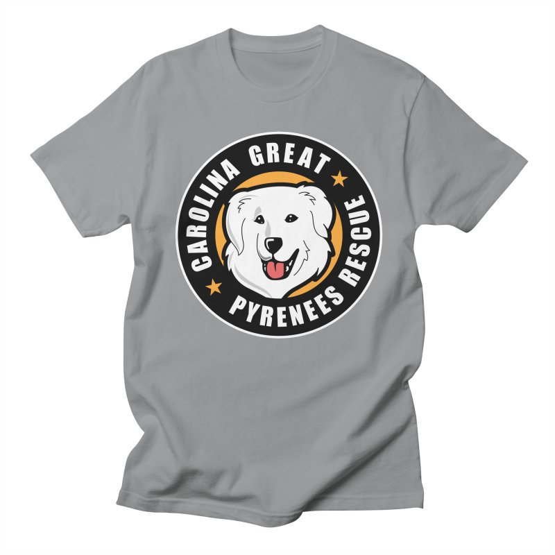 CGPR Logo Men's T-Shirt by Carolina Great Pyrenees Rescue's Shop