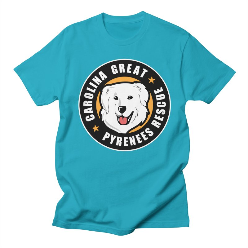 CGPR Logo Women's Unisex T-Shirt by Carolina Great Pyrenees Rescue's Shop