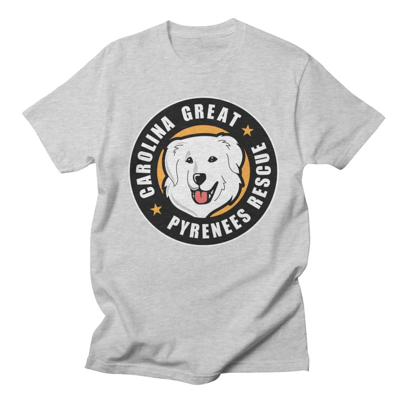 CGPR Logo Men's T-Shirt by Carolina Great Pyrenees Rescue's Shop