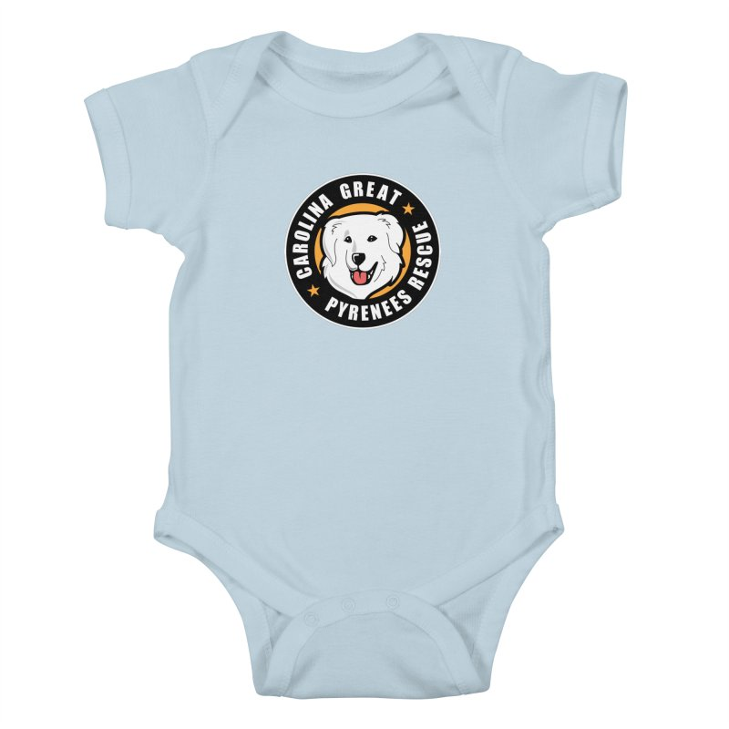 CGPR Logo Kids Baby Bodysuit by Carolina Great Pyrenees Rescue's Shop