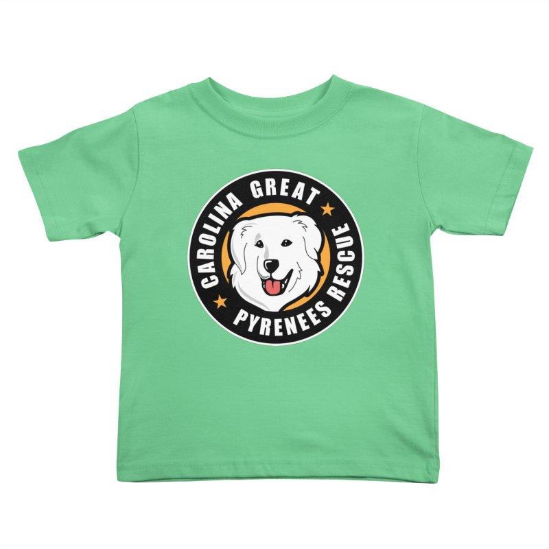 CGPR Logo Kids Toddler T-Shirt by Carolina Great Pyrenees Rescue's Shop