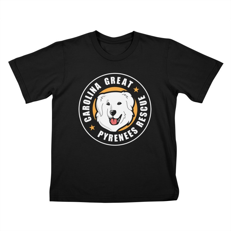 CGPR Logo Kids T-Shirt by Carolina Great Pyrenees Rescue's Shop
