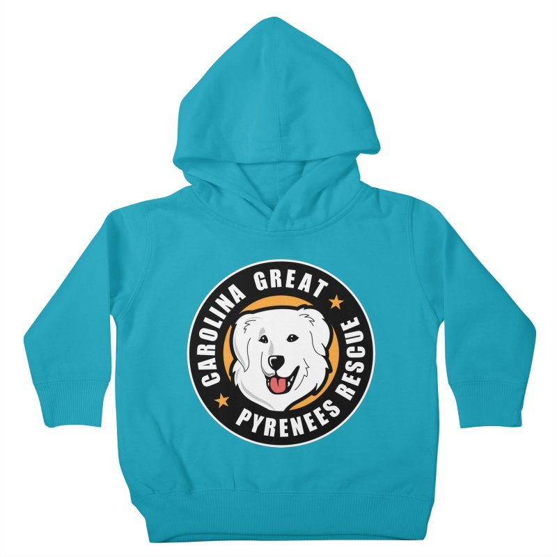 CGPR Logo Kids Toddler Pullover Hoody by Carolina Great Pyrenees Rescue's Shop
