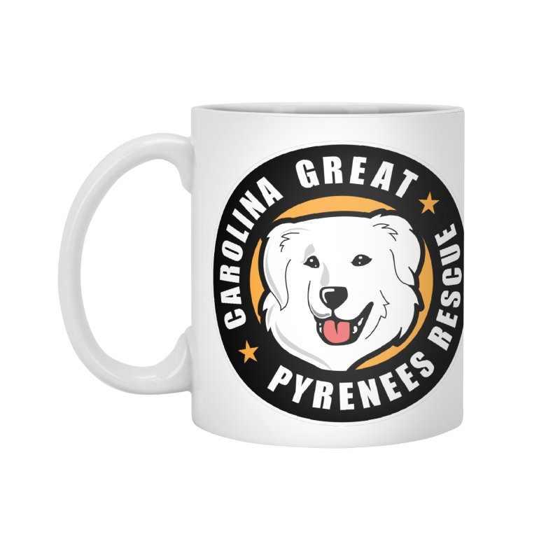 CGPR Logo Accessories Mug by Carolina Great Pyrenees Rescue's Shop