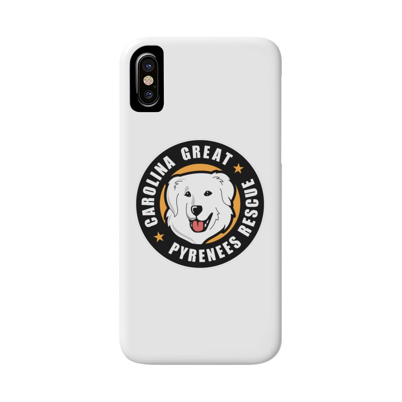 CGPR Logo Accessories Phone Case by Carolina Great Pyrenees Rescue's Shop