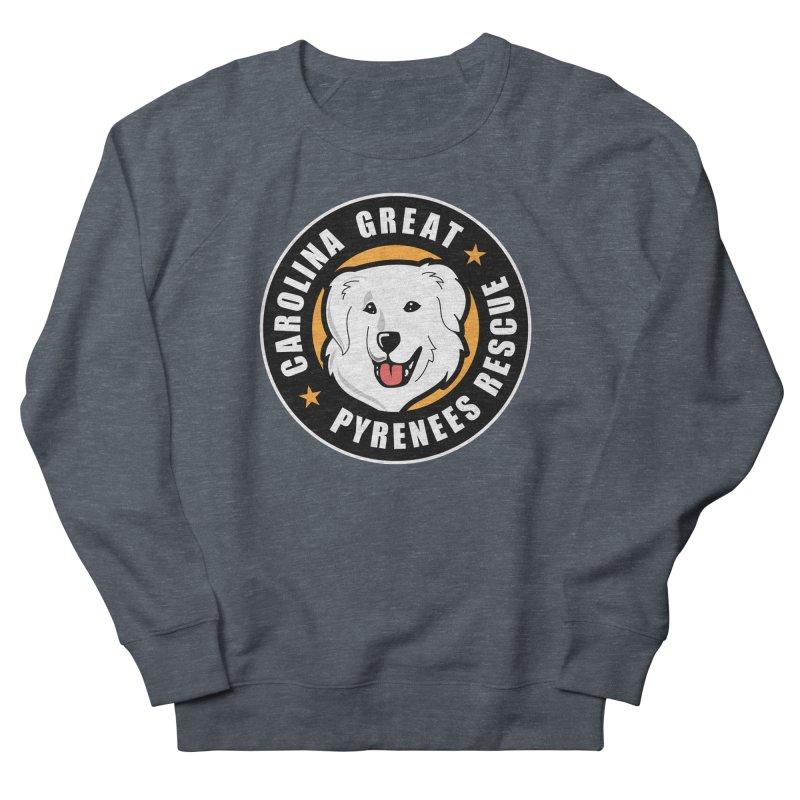 CGPR Logo Women's French Terry Sweatshirt by Carolina Great Pyrenees Rescue's Shop