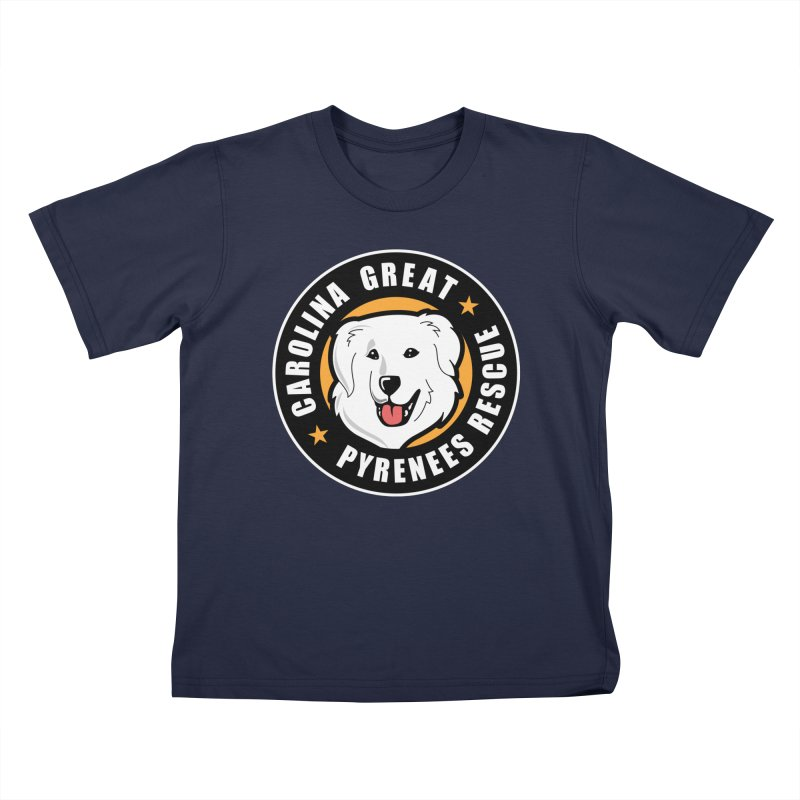 CGPR Logo Kids T-Shirt by Carolina Great Pyrenees Rescue's Shop