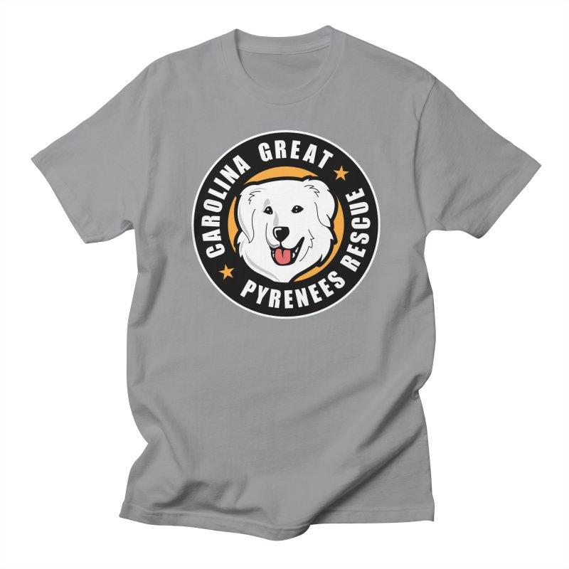 CGPR Logo Women's Regular Unisex T-Shirt by Carolina Great Pyrenees Rescue's Shop