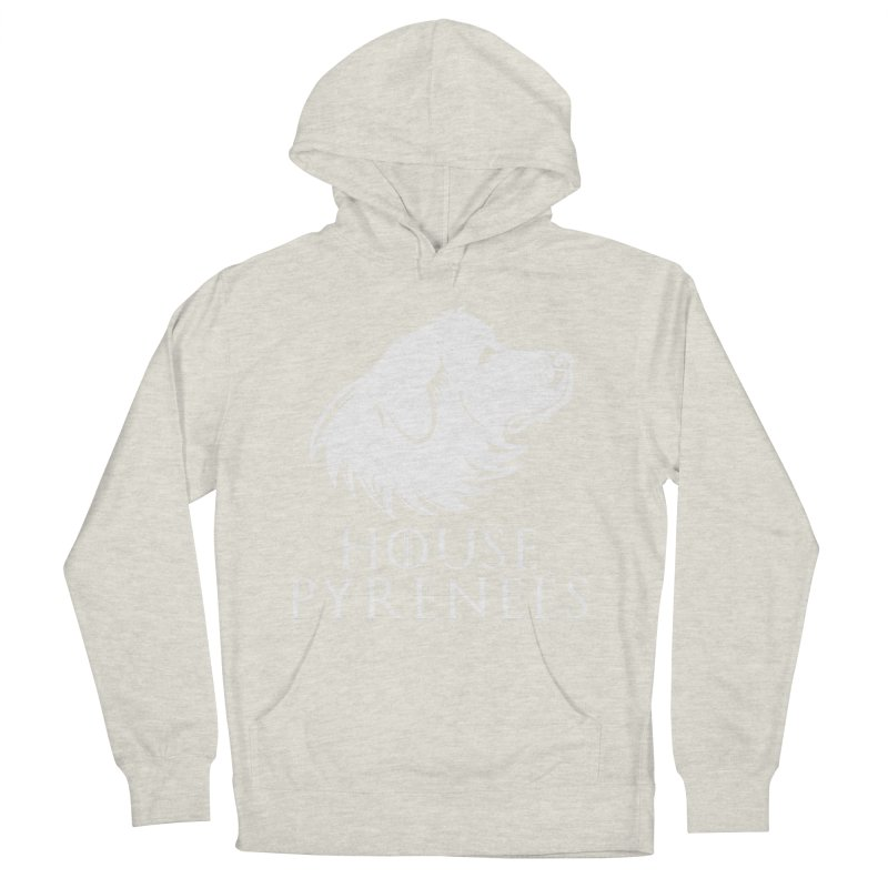 House Pyrenees Men's Pullover Hoody by Carolina Great Pyrenees Rescue's Shop